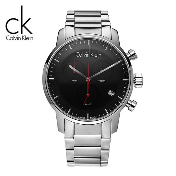 [캘빈클라인 CALVINKLEIN] K2G27141 / 씨티 City Cronograph Mens 43mm