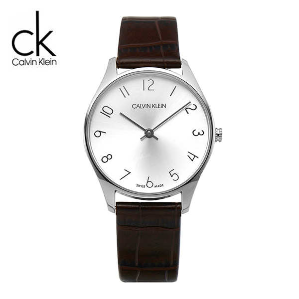 [캘빈클라인 CALVINKLEIN] K4D221G6 CLASSIC LEATHER 32mm