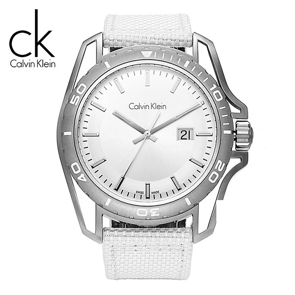 [캘빈클라인 CALVINKLEIN] K5Y31VK6 / 얼스 Earth Fabric Strap Mens 44mm
