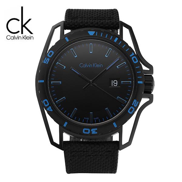 [캘빈클라인 CALVINKLEIN] K5Y31YB1 / 얼스 Earth 남성용 나토밴드 시계 44mm