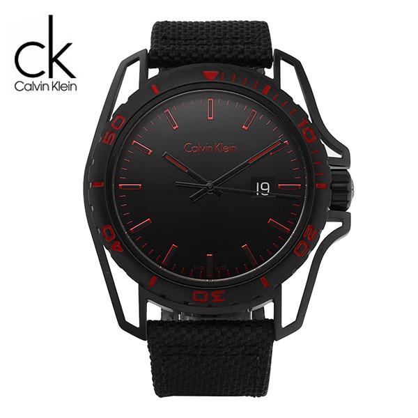 [캘빈클라인 CALVINKLEIN] K5Y31ZB1 / 얼스 Earth 남성용 나토밴드 시계 44mm