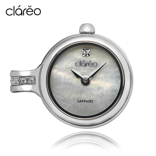 [클라레오시계 CLAREO] CL1810-WH / Aube Rosee Flat 타임메카