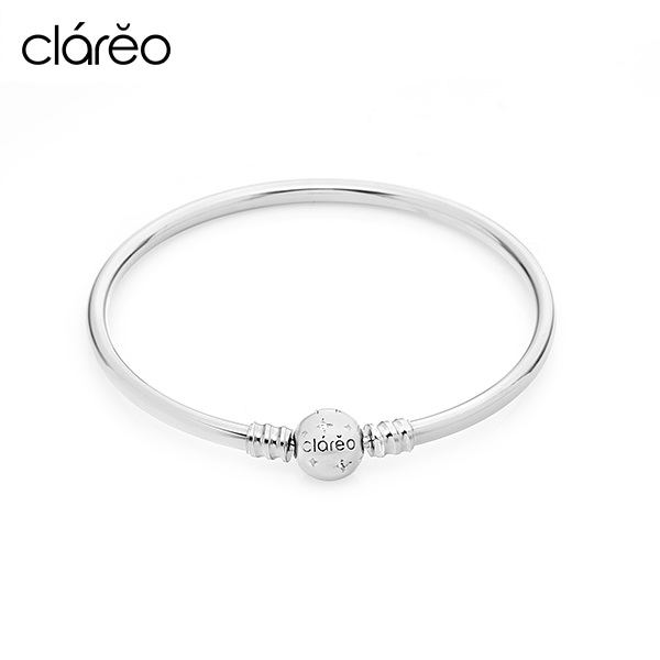 [클라레오 CLAREO] CLB1904 / Clasp Bracelet 실버 타임메카