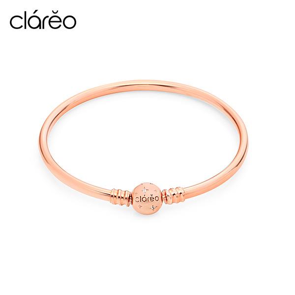 [클라레오 CLAREO] CLB2904 / Clasp Bracelet 로즈골드 타임메카