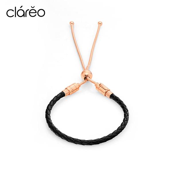 [클라레오 CLAREO] CLB2905 / Sliding Bracelet 로즈골드 타임메카