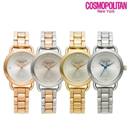 [코스모폴리탄 COSMOPOLITAN] CPM1706L / 커플 시계 여성용