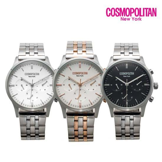 [코스모폴리탄 COSMOPOLITAN] CPM1709M / 커플 시계 남성용