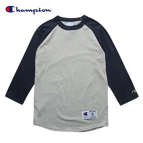 [챔피온 Champion] T1370-C32-549288 Raglan 3/4 Jersey