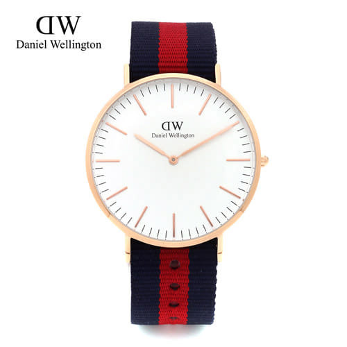 [다니엘 웰링턴시계 DANIEL WELLINGTON] 0101DW(DW00100001) / 40mm 클래식 옥스포드 CLASSIC OXFORD ROSE GOLD