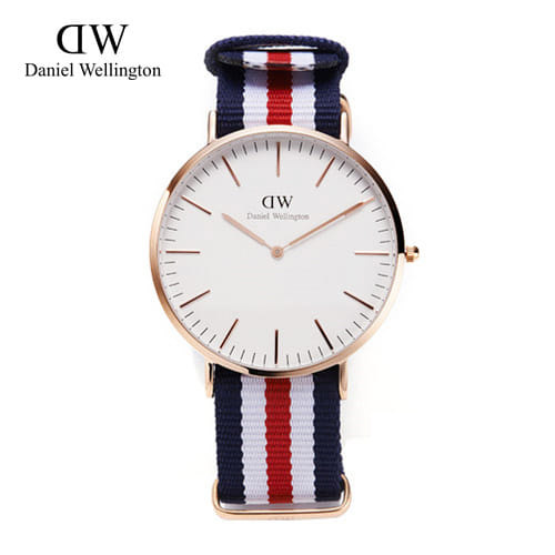 [다니엘 웰링턴시계 DANIEL WELLINGTON] 0102DW / 40mm 클래식 켄터베리 CLASSIC CANTERBURY ROSE GOLD