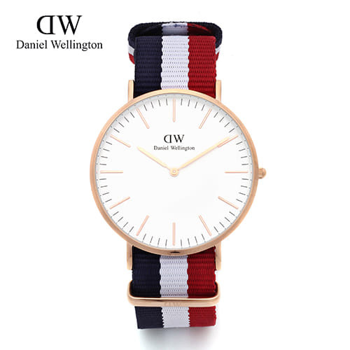 [다니엘 웰링턴시계 DANIEL WELLINGTON] 0103DW(DW00100003) / 40mm 클래식 캠브릿지 CLASSIC CAMBRIDGE ROSE GOLD