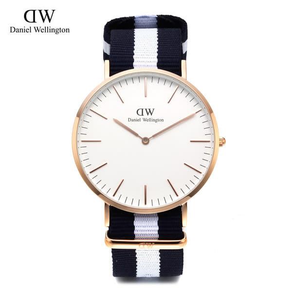 [다니엘 웰링턴시계 DANIEL WELLINGTON] 0104DW(DW00100004) / 온유 착용모델 40mm 클래식 글래시고 CLASSIC GLASGOW ROSE GOLD