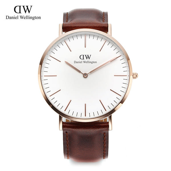 [다니엘 웰링턴시계 DANIEL WELLINGTON] 0106DW(DW00100006) / 40mm 클래식 세인트 앤드류 CLASSIC ST ANDREWS ROSE GOLD