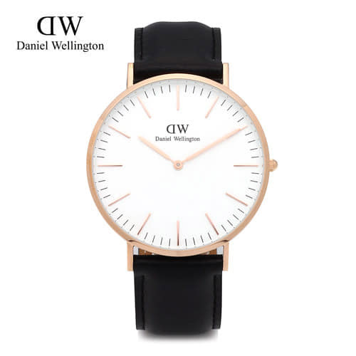[다니엘 웰링턴시계 DANIEL WELLINGTON] 0107DW(DW00100007) / 40mm 클래식 셰필드 CLASSIC SHEFFIELD ROSE GOLD