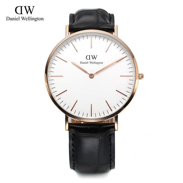 [다니엘 웰링턴시계 DANIEL WELLINGTON] 0114DW / 40mm Classic Reading White Dial