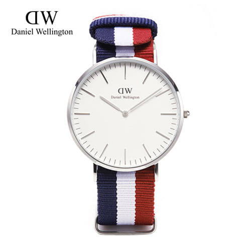 [다니엘 웰링턴시계 DANIEL WELLINGTON] 0203DW(DW00100017) / 40mm 클래식 캠브릿지 CLASSIC CAMBRIDGE SILVER