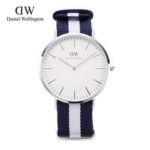 [다니엘 웰링턴시계 DANIEL WELLINGTON] 0204DW(DW00100018) / 40mm 클래식 글래시고 CLASSIC GLASGOW SILVER