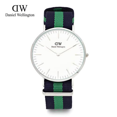 [다니엘 웰링턴시계 DANIEL WELLINGTON] 0205DW(DW00100019) / 40mm 클래식 워릭 CLASSIC WARWICK SILVER
