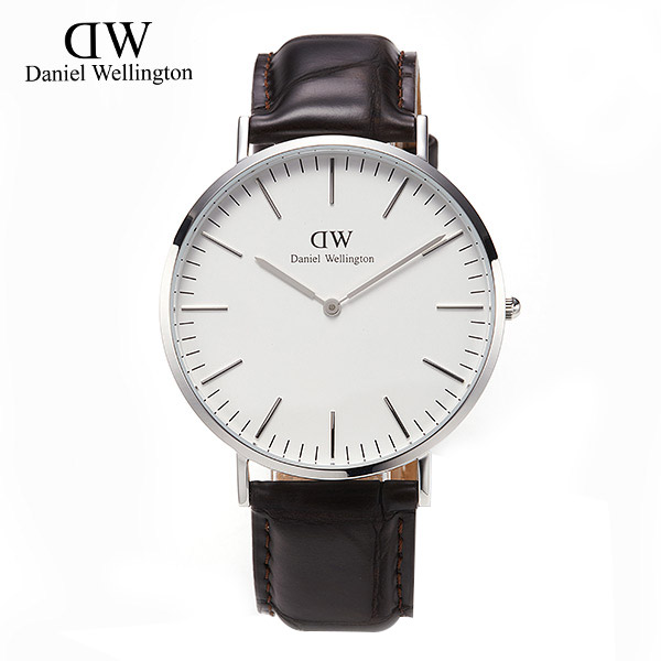 [다니엘 웰링턴시계 DANIEL WELLINGTON] 0211DW(DW00100025) / 40mm CLASSIC YORK SILVER