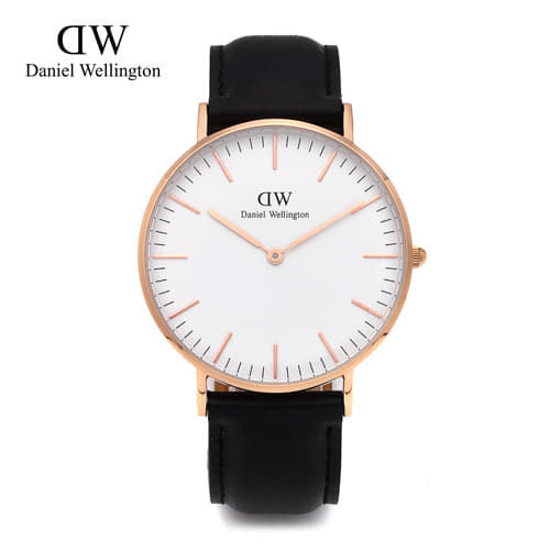 [다니엘 웰링턴시계 DANIEL WELLINGTON] 0508DW(DW00100036) / 36mm 클래식 셰필드 레이디 CLASSIC SHEFFIELD LADY ROSE GOLD