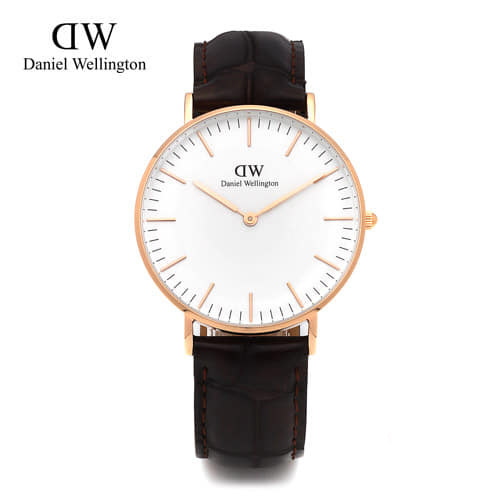 [다니엘 웰링턴시계 DANIEL WELLINGTON] 0510DW(DW00100038) / 36mm 클래식 요크 레이디 CLASSIC YORK LADY ROSE GOLD