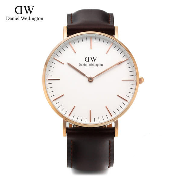 [다니엘 웰링턴시계 DANIEL WELLINGTON] 0511DW(DW00100039) / 문채원 착용모델 36mm CLASSIC BRISTOL LADY ROSE GOLD