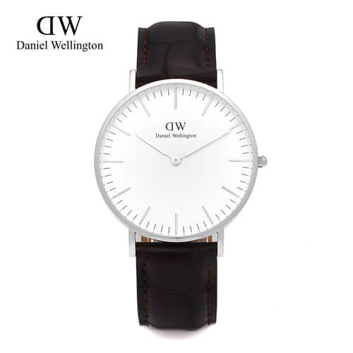[다니엘 웰링턴시계 DANIEL WELLINGTON] 0610DW(DW00100055) / 36mm CLASSIC YORK LADY SILVER