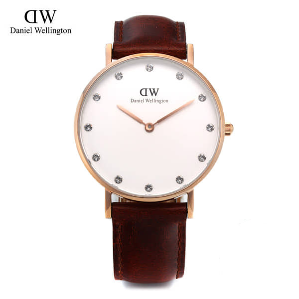 [다니엘 웰링턴시계 DANIEL WELLINGTON] 0950DW(DW00100075) / 34mm CLASSY ST ANDREWS LADY