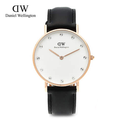 [다니엘 웰링턴시계 DANIEL WELLINGTON] 0951DW(DW00100076) / 34mm Classy Sheffield White Dial Ladies Watch