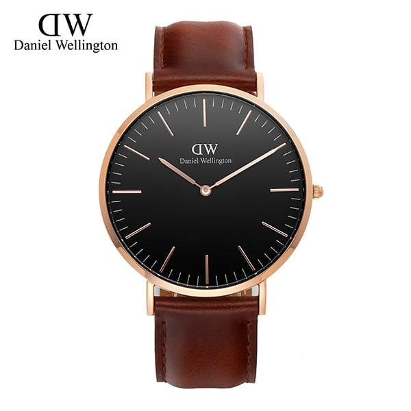 [다니엘 웰링턴시계 DANIEL WELLINGTON] DW00100124 / 40mm 클래식 블랙 세인트머스 Classic Black St Mawes