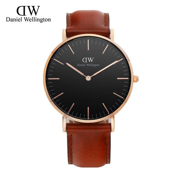 [다니엘 웰링턴시계 DANIEL WELLINGTON] DW00100136 / 36mm 클래식 블랙 세인트머스 Classic Black St Mawes
