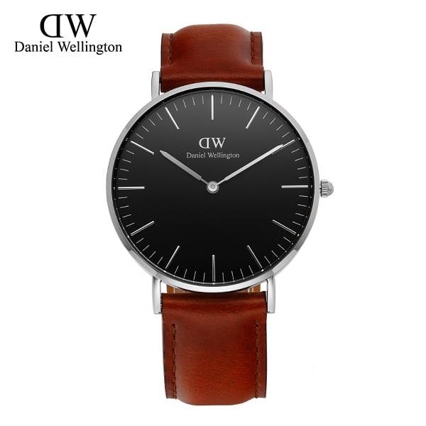 ☆-) [다니엘 웰링턴시계 DANIEL WELLINGTON] DW00100142 / 36mm 클래식 블랙 세인트머스 Classic Black St Mawes