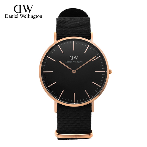 [다니엘 웰링턴시계 DANIEL WELLINGTON] DW00100148 / 40mm 클래식 블랙 콘월 Classic Black Cornwall