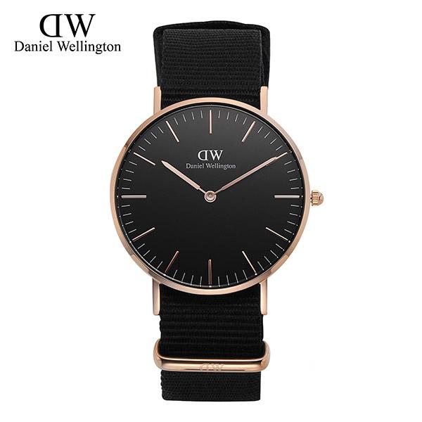 [다니엘 웰링턴시계 DANIEL WELLINGTON] DW00100150 / 36mm 클래식 블랙 콘월 Classic Black Cornwall