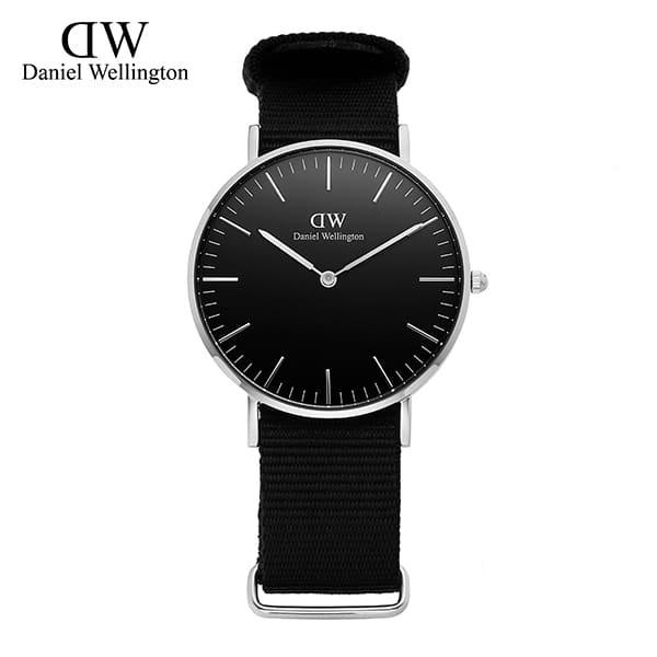 ★-) [다니엘 웰링턴시계 DANIEL WELLINGTON] DW00100151 / 36mm 클래식 블랙 콘월 Classic Black Cornwall