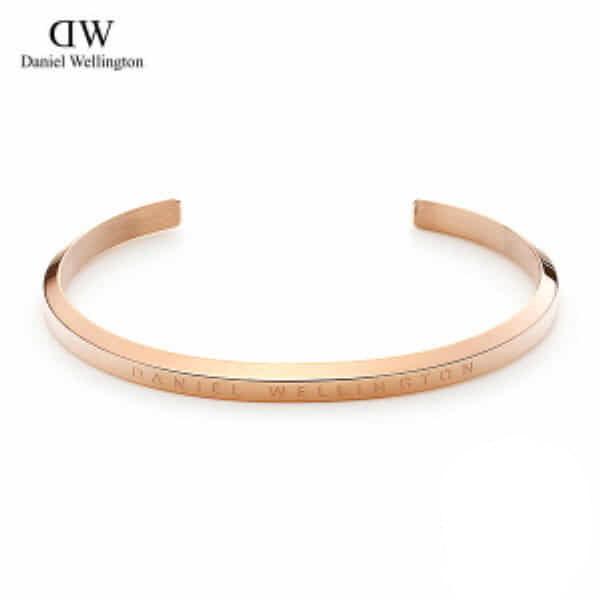 [다니엘 웰링턴시계 DANIEL WELLINGTON] DW00400003 / 클래식 커프 Classic Cuff Rose Gold 15.5cm