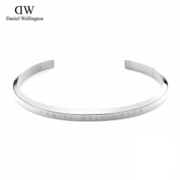 [다니엘 웰링턴시계 DANIEL WELLINGTON] DW00400004 / 클래식 커프 Classic Cuff Silver 15.5cm