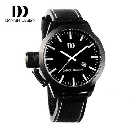 ☆-) [대니시디자인시계 DANISH DESIGN] IQ16Q887 남성용 가죽시계 54mm(용두포함) [한국본사정품]