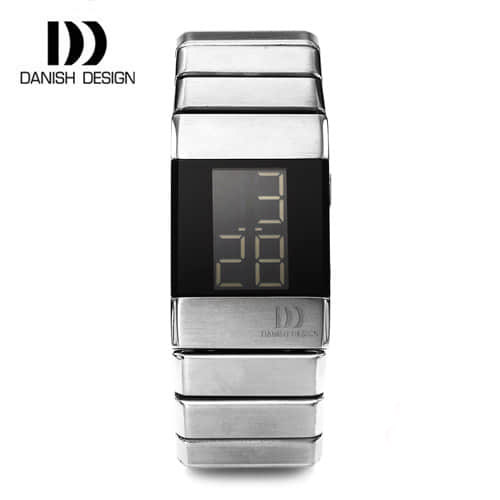☆-) [대니시디자인시계 DANISH DESIGN] IV63Q641 디지털 여성용 메탈시계 23x34mm [한국본사정품]