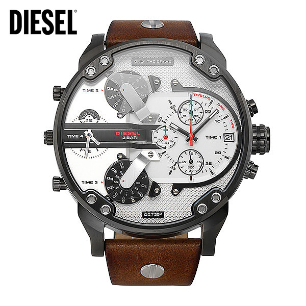 [디젤시계 DIESEL] DZ7394 / 55mm Mr. DADDY