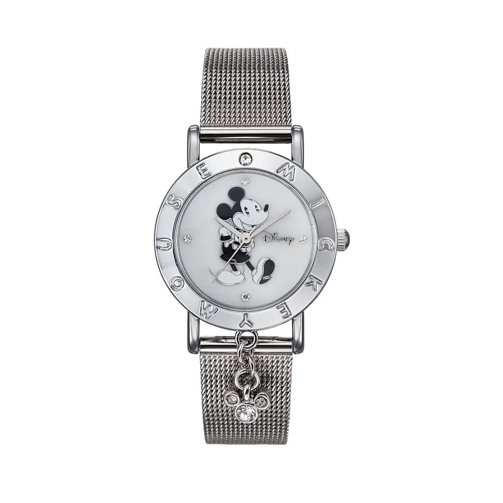 [디즈니시계 DISNEY] OW-035DWM 디즈니 남녀공용 메쉬밴드 시계 [사은품 가죽밴드추가증정] 타임메카
