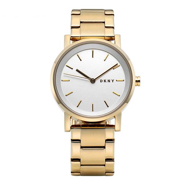 ☆-) [도나카란뉴욕시계 DKNY] NY2343 잇걸 여성 골드 메탈시계 34mm