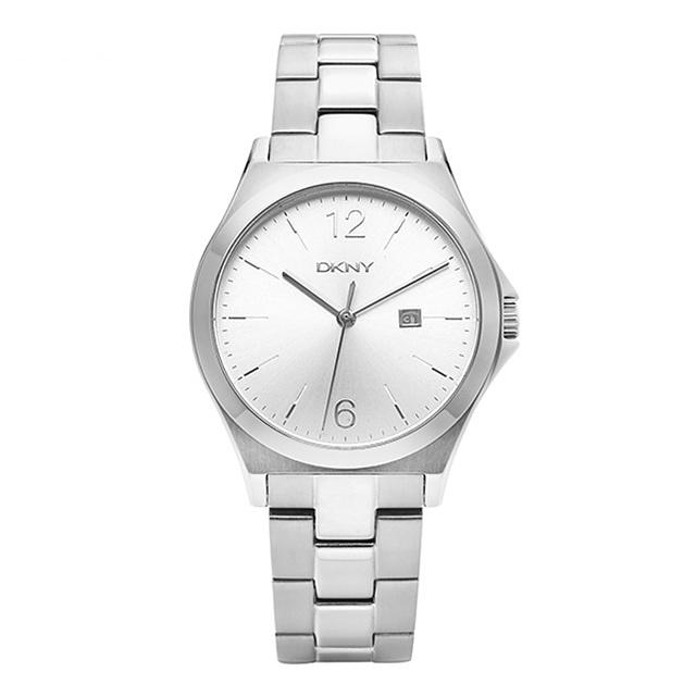 ☆-) [도나카란뉴욕시계 DKNY] NY2365 / PARSONS 여성 실버 메탈시계 34mm