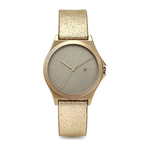 [도나카란뉴욕시계 DKNY] NY2371 / PARSONS 여성 골드 가죽시계 34mm