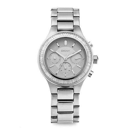 ☆-) [도나카란뉴욕시계 DKNY] NY2394 / CHAMBERS 크로노그래프 여성용 메탈시계 38mm