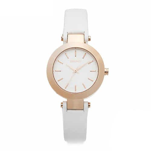 [도나카란뉴욕시계 DKNY] NY2405 / STANHOPE 여성용 로즈골드 가죽시계 28mm