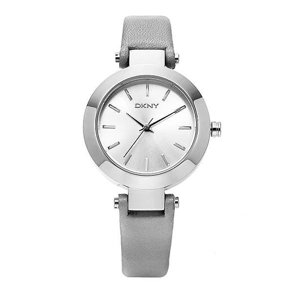 [도나카란뉴욕시계 DKNY] NY2456 / STANHOPE 여성용 실버 가죽시계 28mm