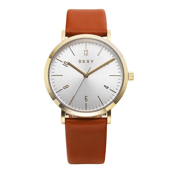 얼마줬스-) [도나카란뉴욕시계 DKNY] NY2613 / MINETTA 여성 가죽시계 36mm