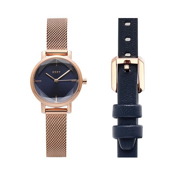 [도나카란뉴욕 DKNY] NY2679 / SOHO 여성용 메탈시계 가죽밴드 세트 24mm