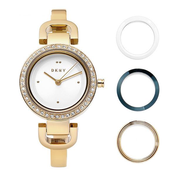 [도나카란뉴욕시계 DKNY] NY2891 / City Link 베젤 세트 여성용 골드 메탈시계 26mm 타임메카